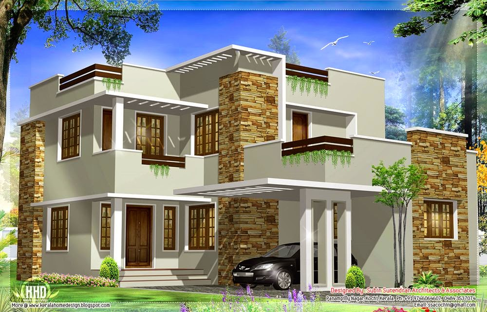 Modern Home Designs Natural