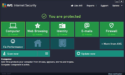 AVG Antivirus & Internet Security 2013 Free 1 Year