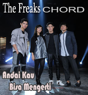 Chord/Kunci Gitar dan Lirik Lagu The Freaks (Aliando Syarief, Nikita Willy, Calvin Jeremy,Teuku Rasya) - Andai Kau Bisa Mengerti