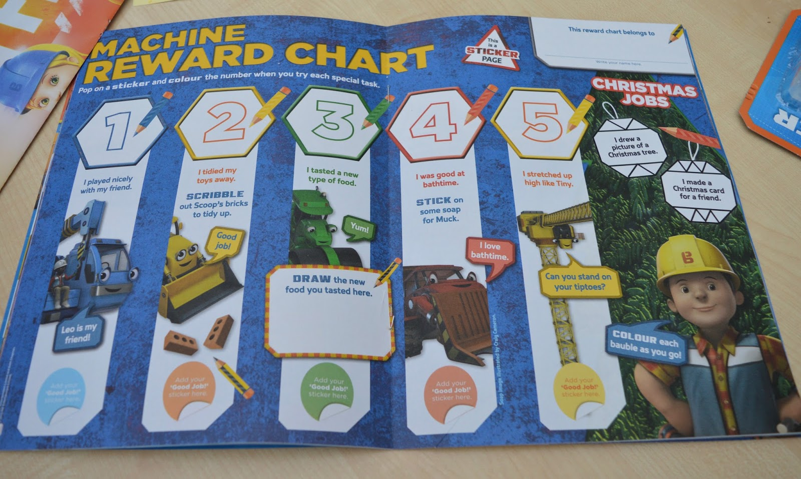 This Monthu0027s Comic Is Packed With Extra Items Including A Fantastic Reward  Chart (perfect In The Run Up To Christmas), A Poster For Jacku0027s Wall Which  Now ...