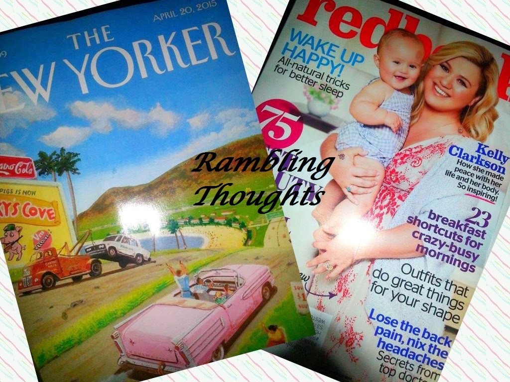 Rambling Thoughts, Free, Mail, Coupons, Products, Samples, Magazine Subscription