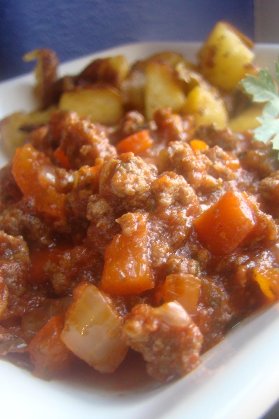 ... and Red Pepper Hash (grain-free : Primal : GAPS : SCD : gluten-free