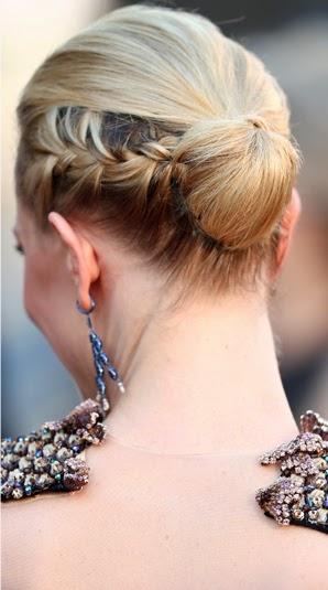 Melhores penteados usados em Cannes