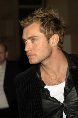JUDE LAW COOL HAIRSTYLE