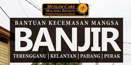 Senarai Tabung Bantuan Kecemasan Banjir Malaysia 2014