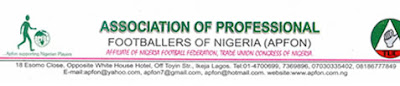 APFON National Administrative Council Conference, The Association of Professional Footballers of Nigeria