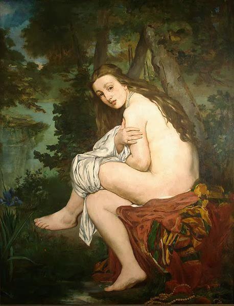Ninfa sorprendida (Manet)