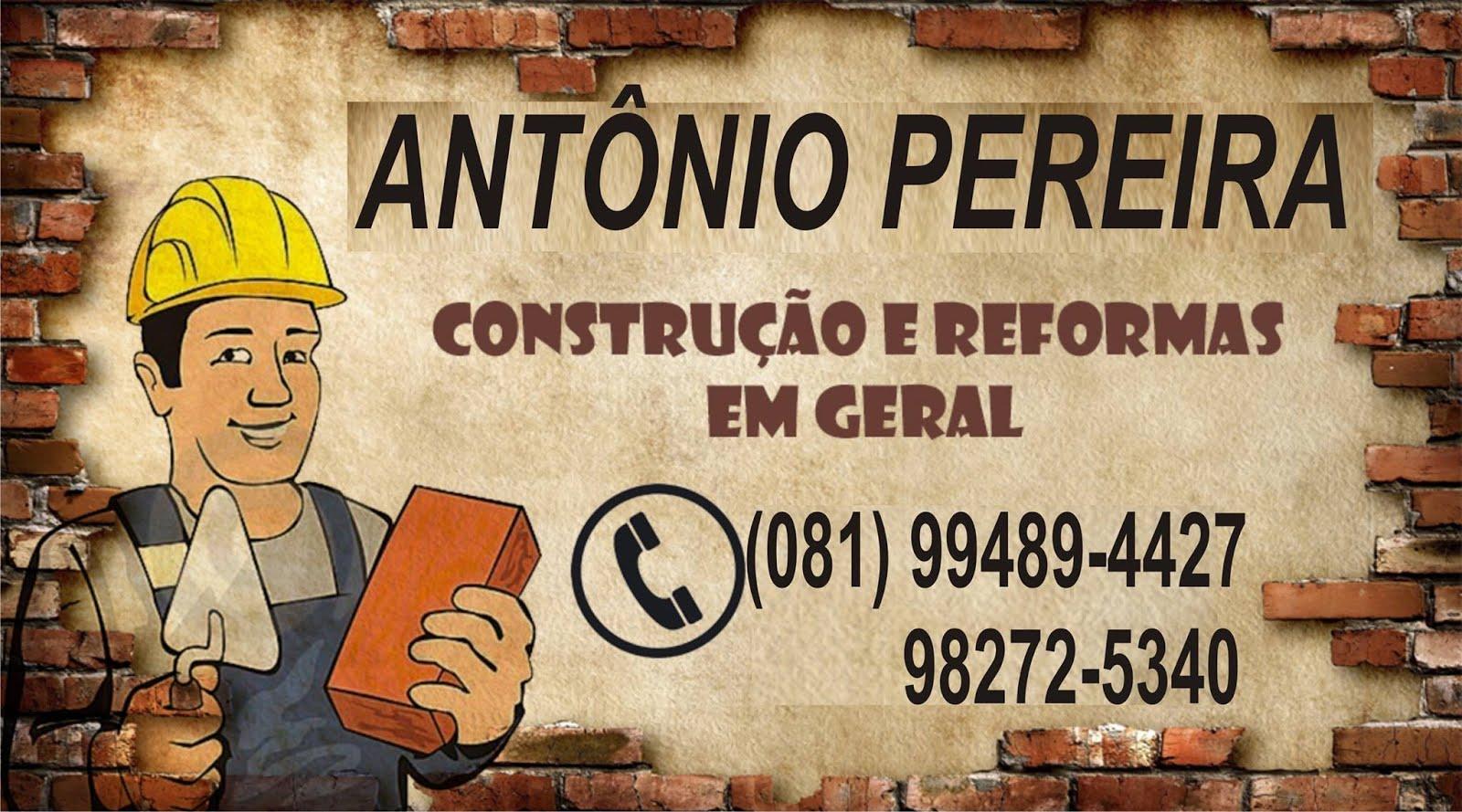 ANTÔNIO PEDREIRO