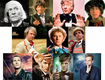 Todos los actores que han interpretado al Doctor Who