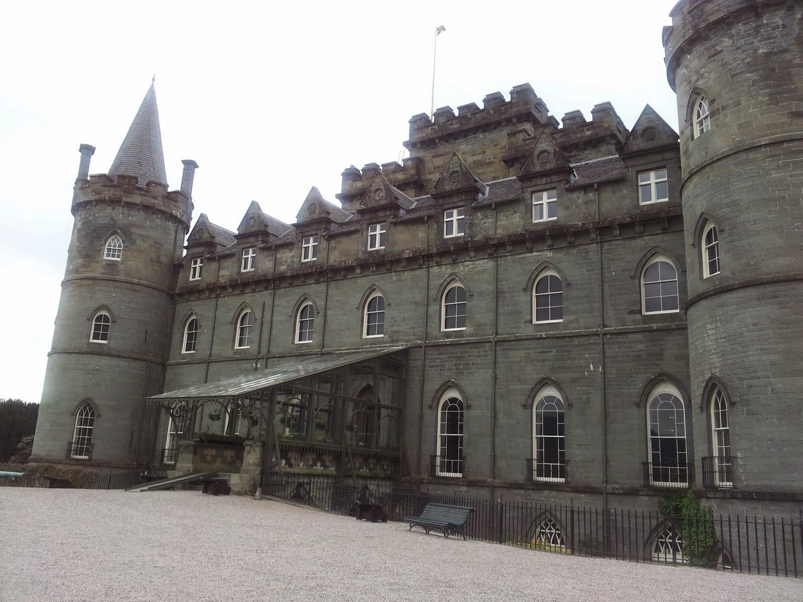 Inverary castle, Scotland
