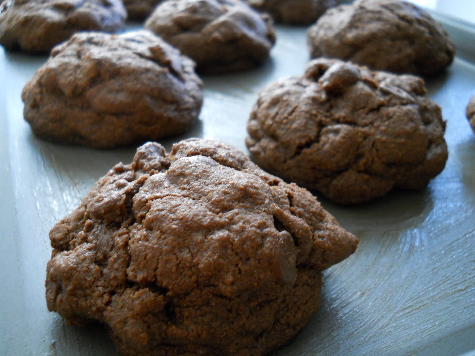 CaféConnie: Triple Chocolate Espresso Bean Cookies
