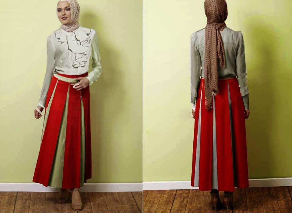 Model Baju Kerja Muslimah Modern Terbaru