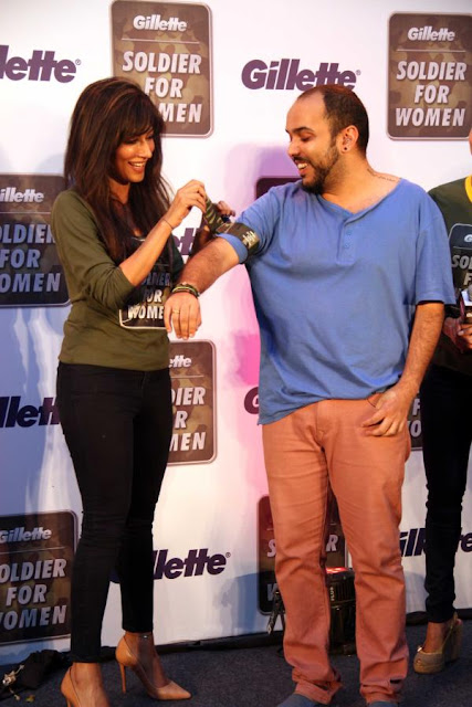 Chitrangda and Mallaika at Gillette Soldier For Women promotional event