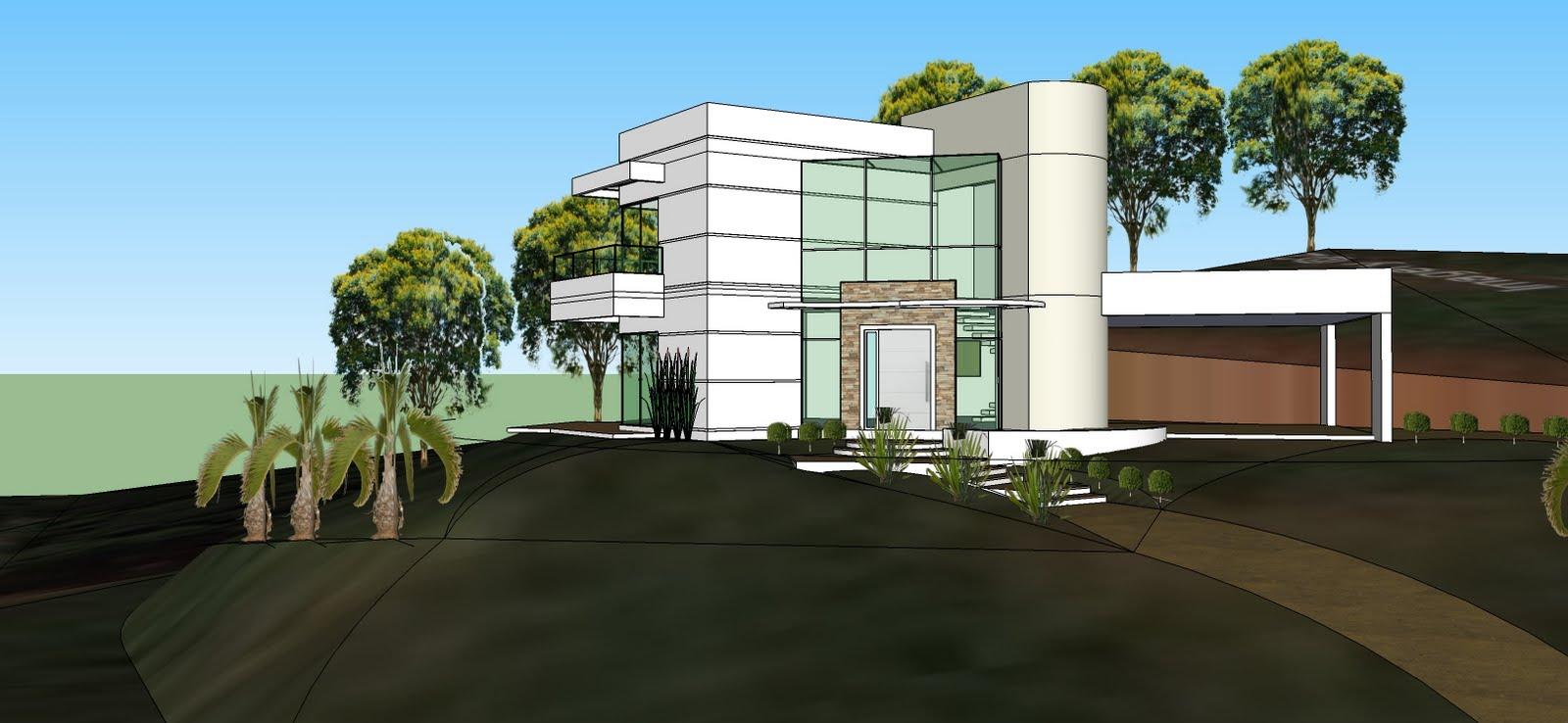 Halla arquitetura e urbanismo casa contempor nea for Raccordo casa contemporanea