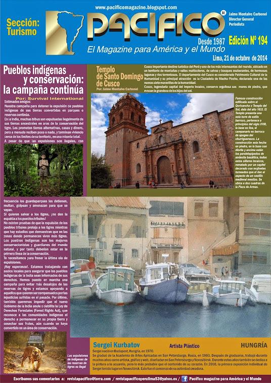 Revista Pacífico Nº 194 Turismo