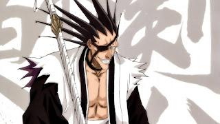 Kenpachi Zaraki (Bleach) Rambut Anime Jepang Spektakuler