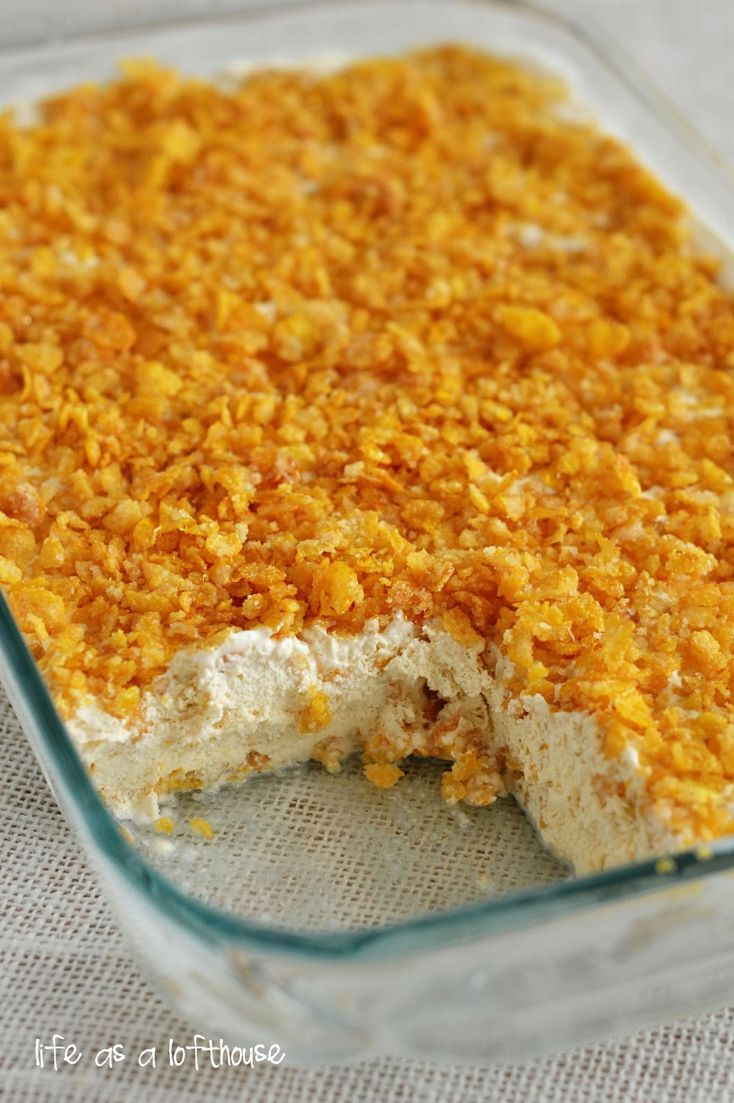 mexican fried ice cream dessert 3 cups crushed corn flakes