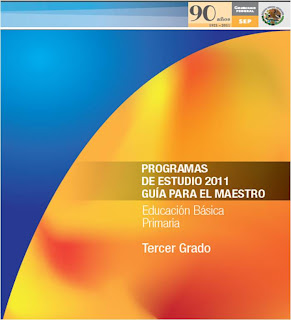 PROGRAMA TERCER GRADO 2011