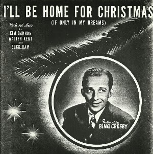 ill be home for christmas was written in 1943 by kim gannon and walter kent gannon a lyracist wrote with a number of composers producing hits like glen - Bing Crosby Christmas Songs