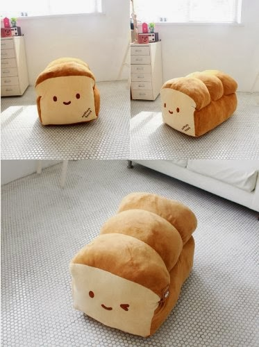 Cute Bread Loaf Pillow : Throw Money At Screen: Cute Bread Pillow