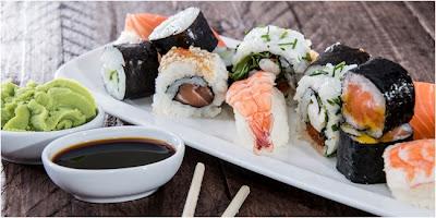 Cara Menikmati Sushi Tanpa Khawatir Gemuk