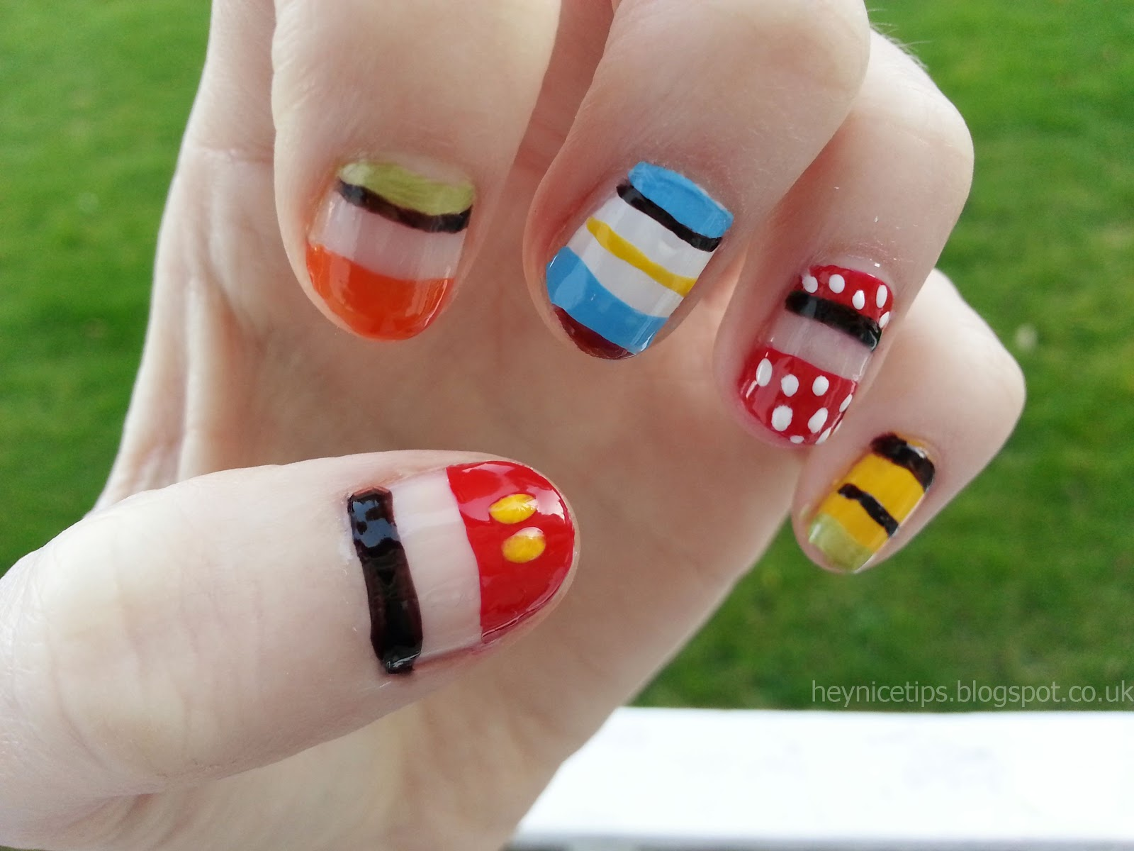 Character Design Nails : Disney nail designs pccala