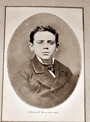 VINCENZINO DILIBERTO MORTO DA SANTO A 22 ANNI ( Fra Giuseppe Maria da Palermo ). 1864 - 1886