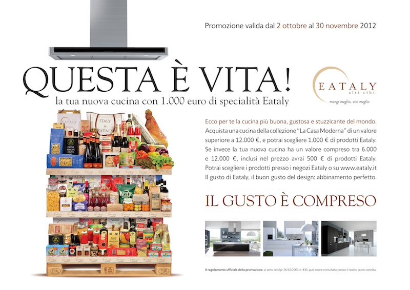 Eataly discount coupons