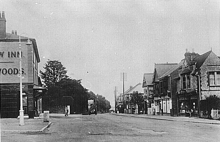 Street view Drayton 1956