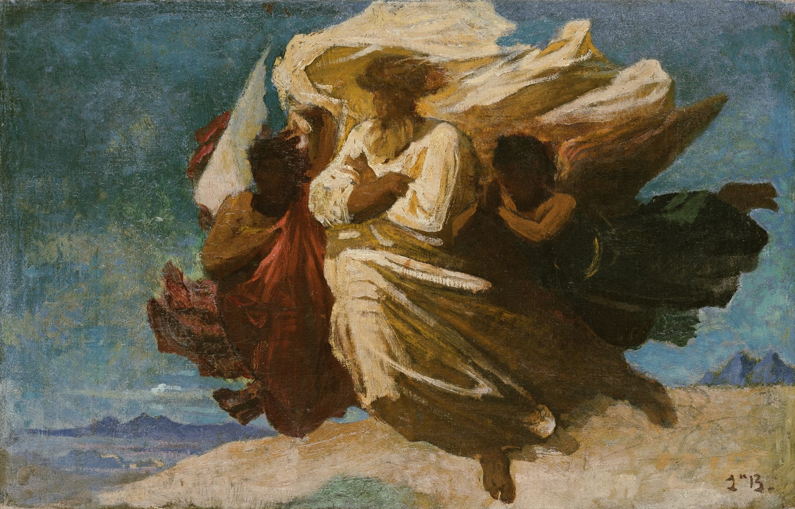 Leon  onnat Apotheosis of a Saint