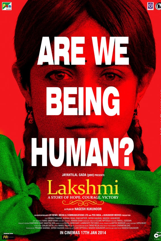Complete cast and crew of Lakshmi (2014) bollywood hindi movie wiki, poster, Trailer, music list - Monali Thakur