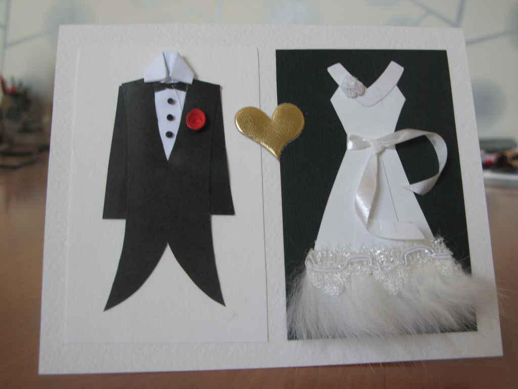 Открытки на бумажную свадьбу своими руками