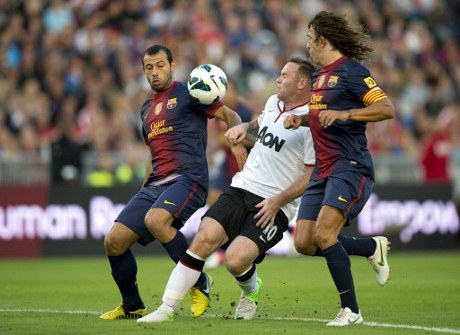 Hasil Pertandingan Barcelona vs Manchester United ...
