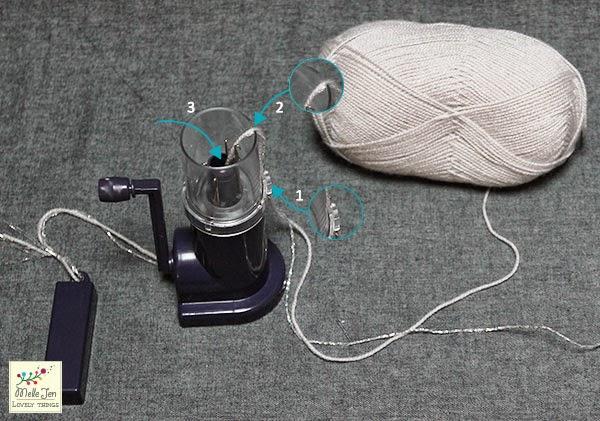 MelleJen tutoriel mot en tricotin : le tricotin