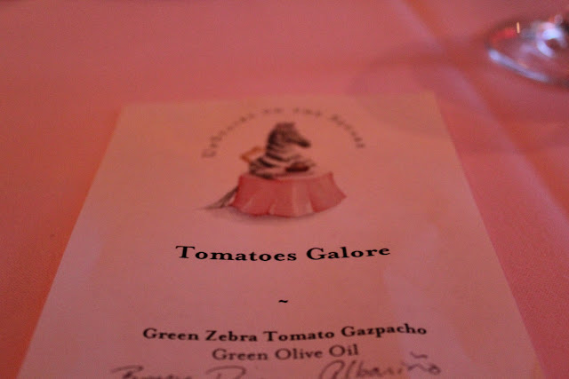 Tomatoes Galore at Upstairs on the Square