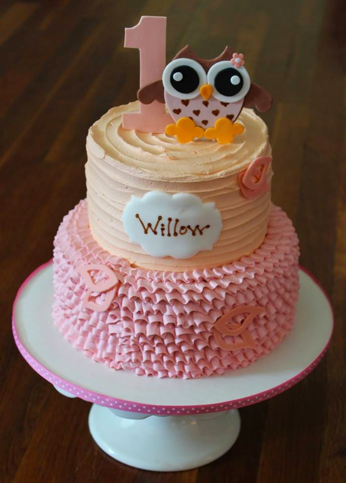 Cakes by Becky Owl First Birthday
