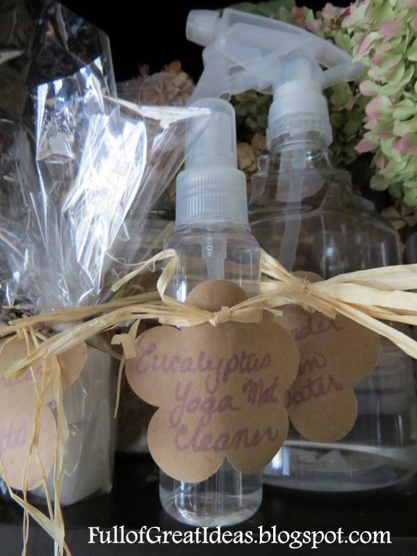 full of great ideas diy eucalyptus yoga mat cleaner freshener