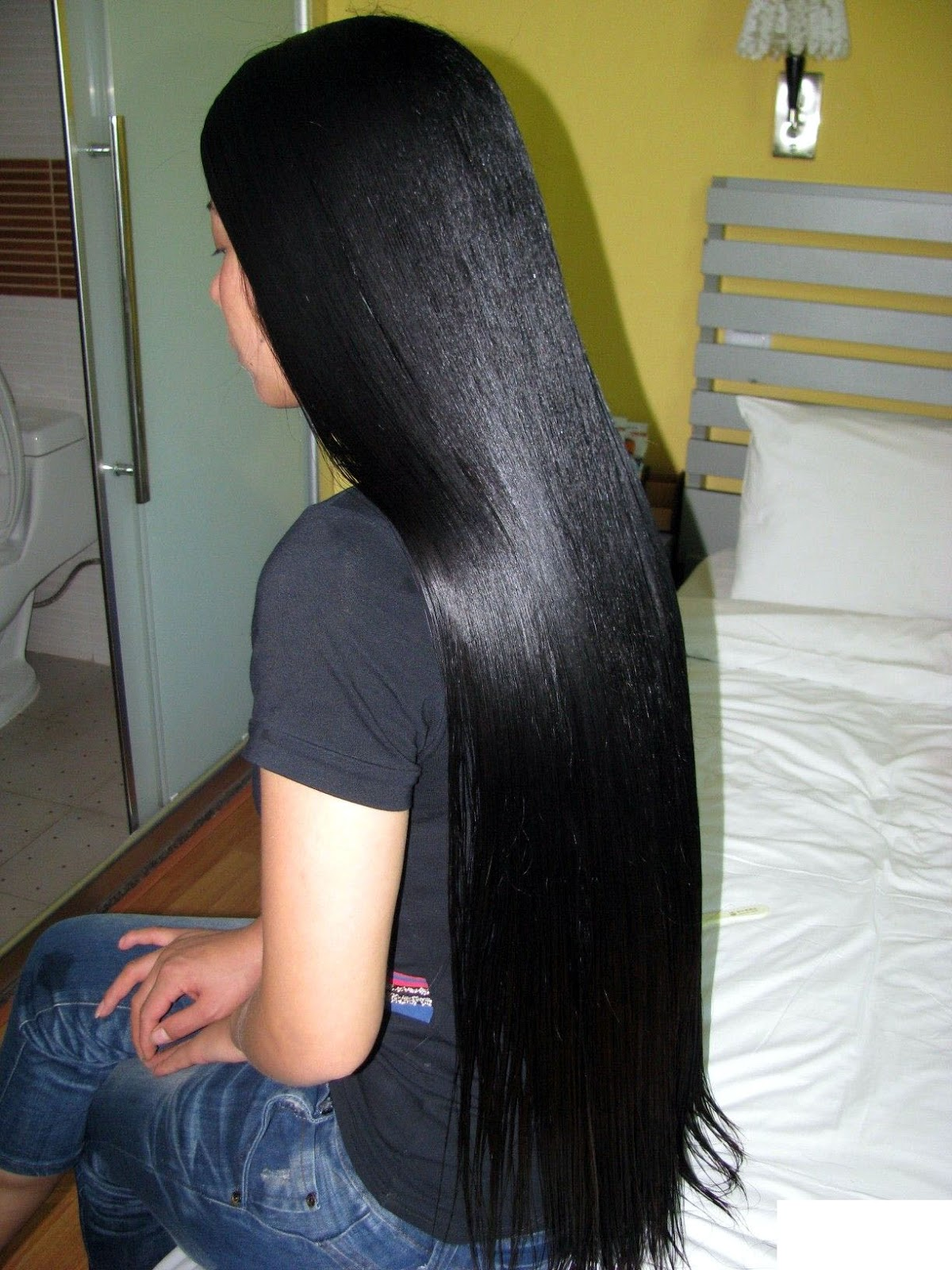 Rambut Panjang Dan Indah Beautiful Long Hair