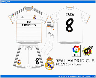 Real Madrid C. F. - 2013/2014 (home)