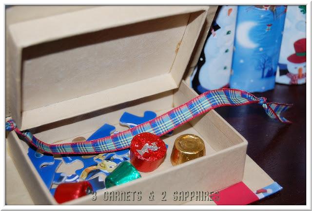 Diy Reusable Advent Calendar : Garnets sapphires diy reusable advent calendar boxes