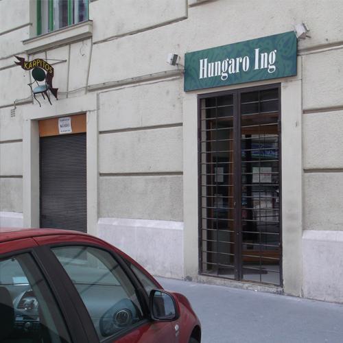 Hungaro Ing férfi ing divatüzlet a Gellért térnél végleg bezárt