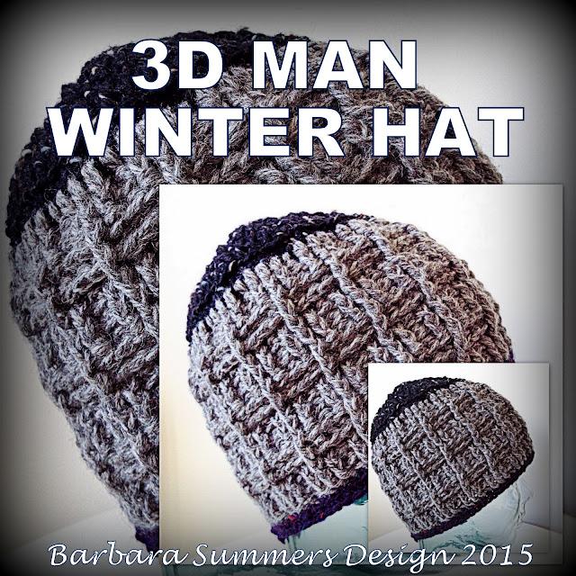 crochet hat, beanie, winter crochet, men, man