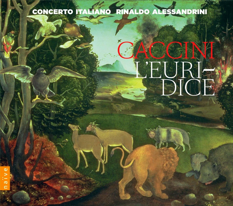 Caccini - L'Euridice - naive
