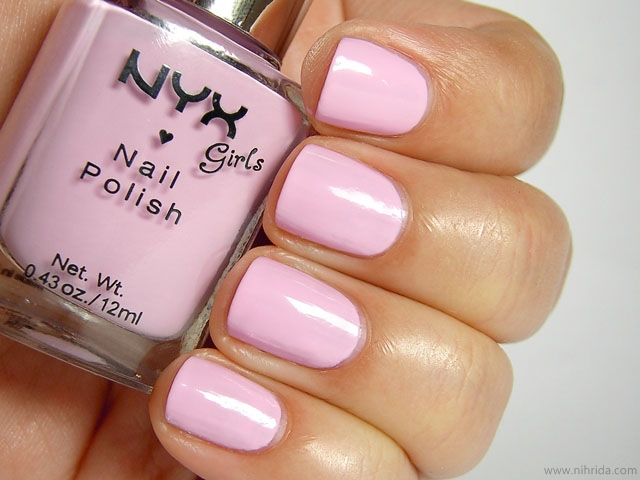 NYX Girls Nail Polish in Sweetest Pink