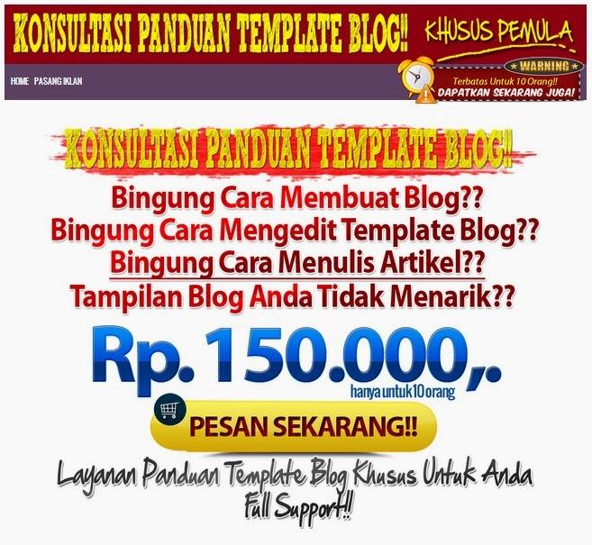 Membuat Blog dan Minisite Di Blogger