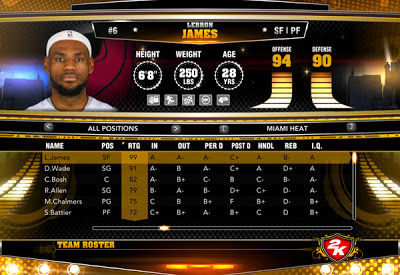 NBA 2K13 Roster Download Patch Update January 17 2013