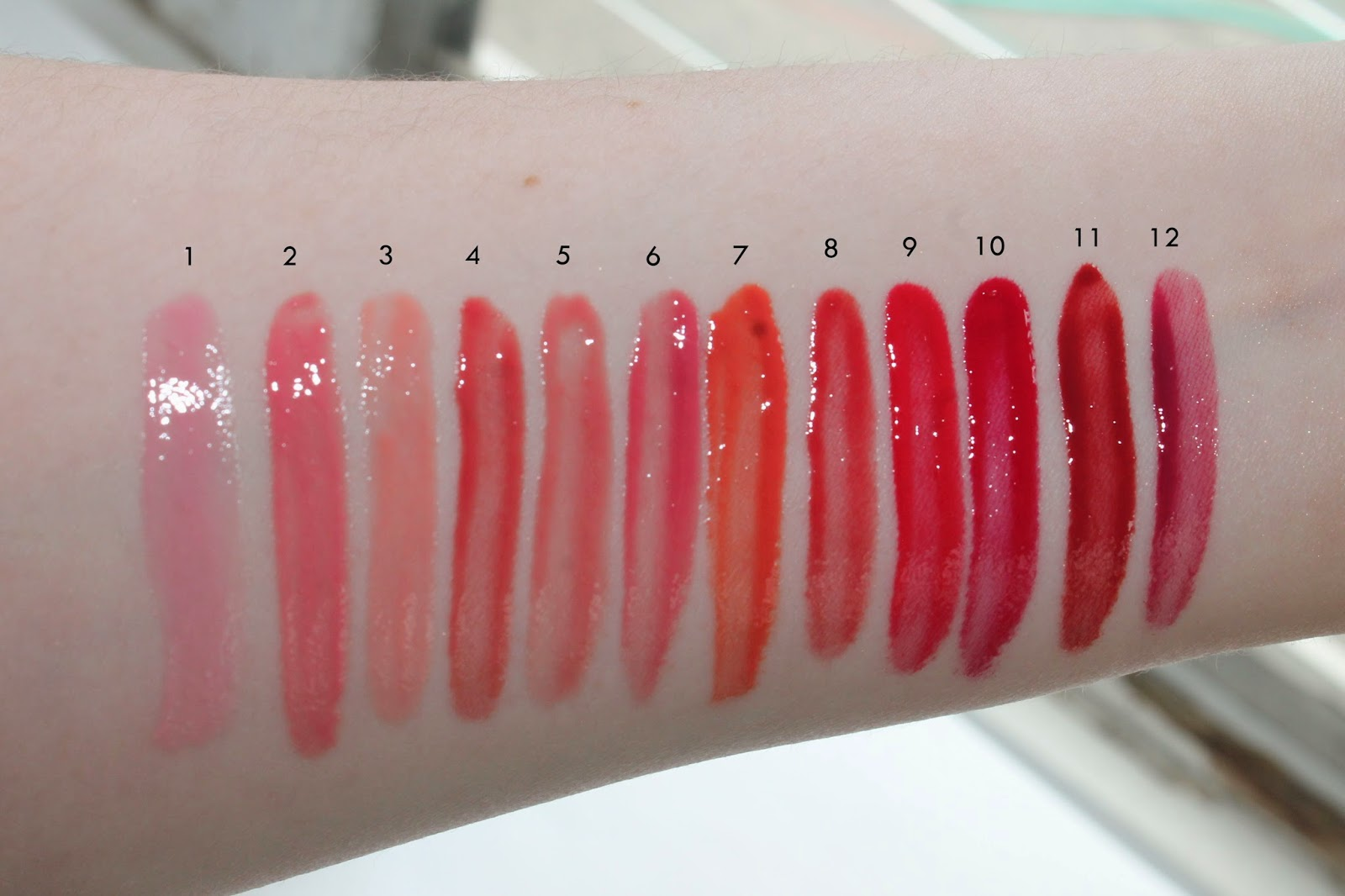 bite beauty deconstructed rose lip gloss library swatches