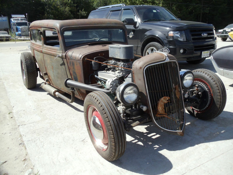 American rat rod cars trucks for sale 1933 plymouth rat rod for 1933 plymouth 4 door
