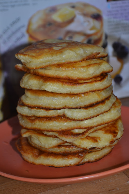 amerikanska pannkakor lchf