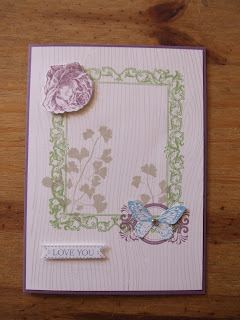 Papaya Collage, Stampin' Up!